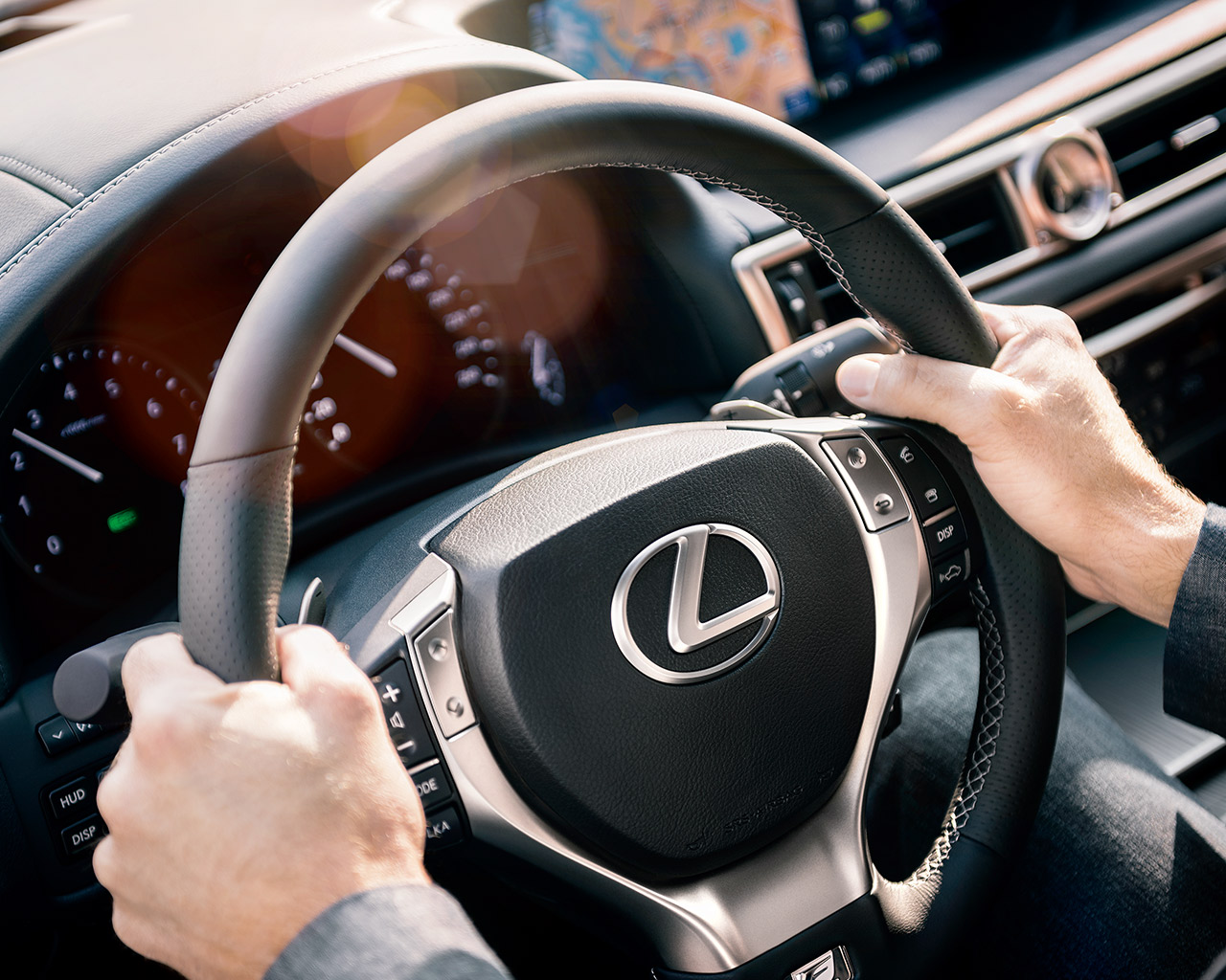 Lexus review interior GS 300h
