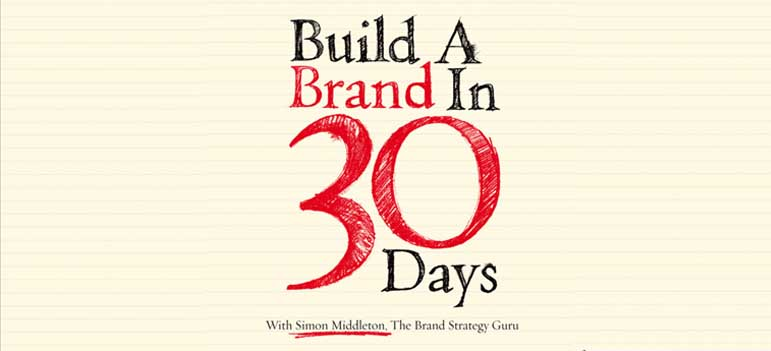 Book Review: Build a Brand in 30 days