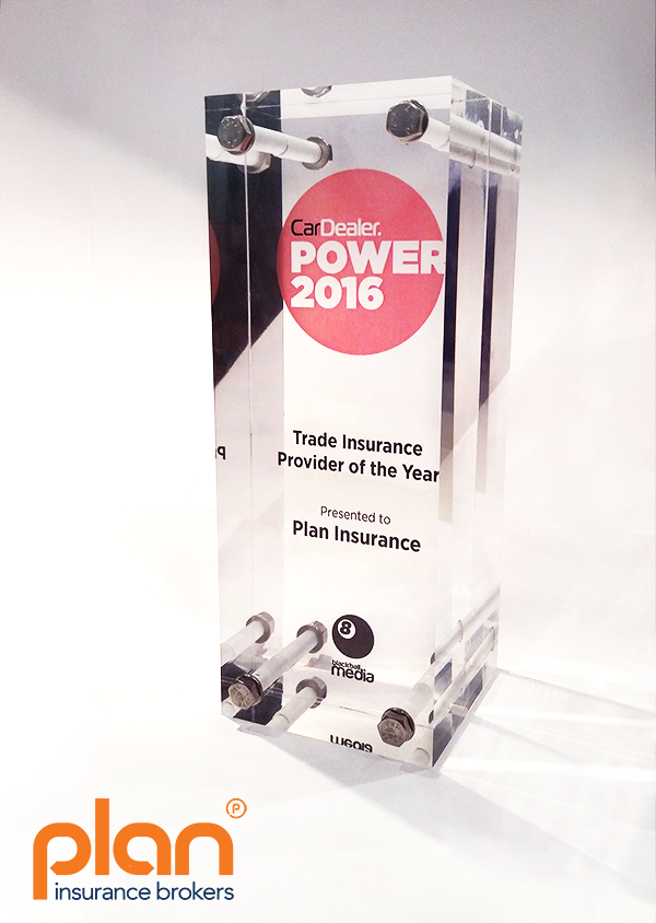 Car Dealer Power - Trade Insurance Provider of the Year 2016 -smaller