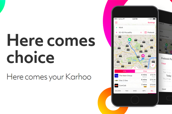 Karhoo the biggest cab app in London